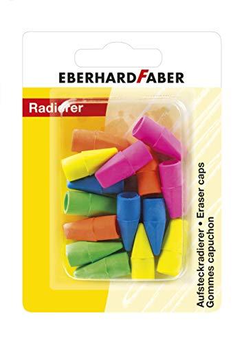 Eberhard Faber 585496 - gum voor potloden, 15er blister