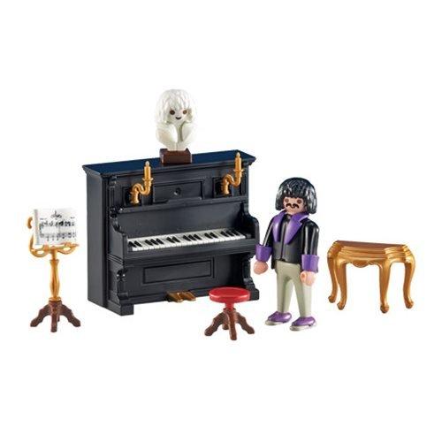 Playmobil - 6527 - Pianiste avec son Piano - Emballage Plastique, pas de boîte en carton