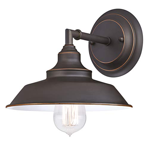Westinghouse Lighting Three-Light Indoor Island Pulley Pendant Poleas, Bronce Aceitado, Lámpara de techo colgante con 3 luces
