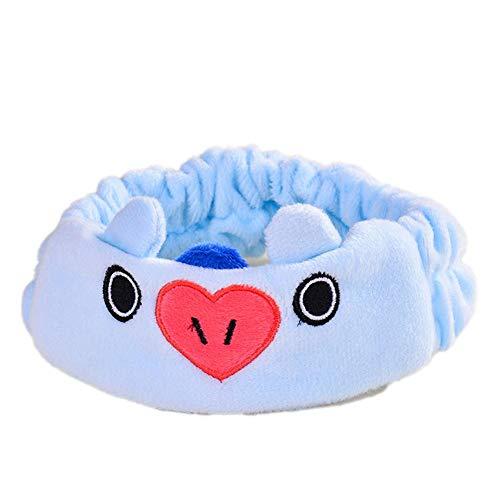 SOROPTLE Mooie haarzweet-hoofdband voor dames, make-upstirnband