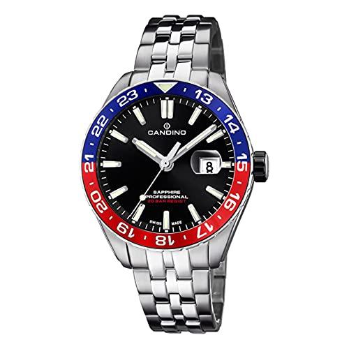 Candino Herren Uhr Analog C4717/1 Edelstahl Armbanduhr Classic Silber UC4717/1 Analoguhr