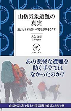 ヤマケイ新書 山岳気象遭難の真実 過去と未来を繋いで遭難事故をなくす