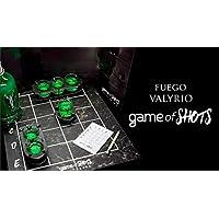 Game of shots: Juego de mesa Licor fuego Valyrio