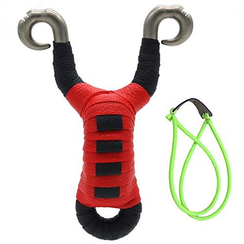 Slingshot Set, Professional Slingshots Set, High Velocity Powerful slingshots for Hunting, Adult Outdoor Slingshot Catapult Slingshot with Slingshot Rubber Band