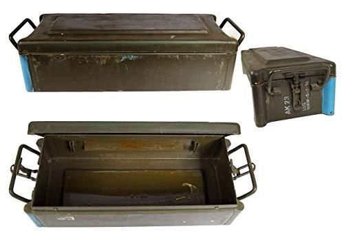 Unbekannt Bundeswehr Munitionskiste DM21 gebraucht 61 x 17,5 x 17 Werkzeugkiste Munikiste