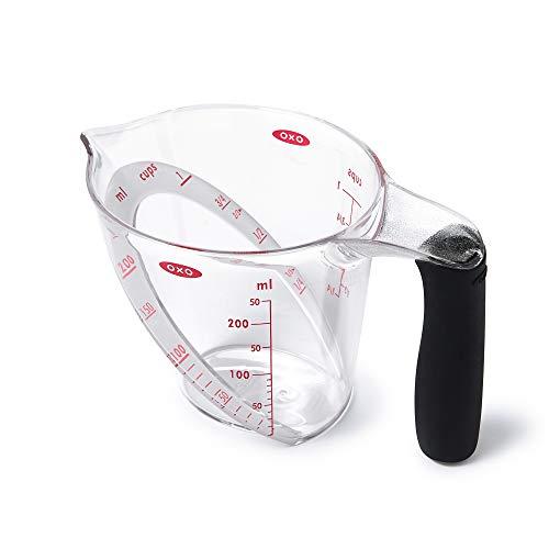 OXO Good Grips Abgewinkelter Messbecher 250 ml, EU Version