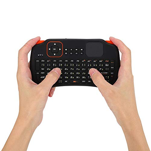Bewinner Mini Wireless Keyboard, 83-Key QWERTY Keyboard Ergonomic Hand-held High-Sensitivity for PC for Android/Google TV Box for PS3 HTPC/IPTV, Excel
