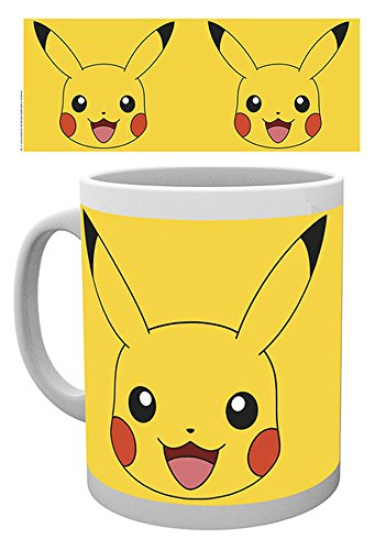 empireposter 716507 Pokémon – Pikachu – Tasse, diamètre 8,5 cm, Céramique, Multicolore, 12 x 8 x 9,5 cm