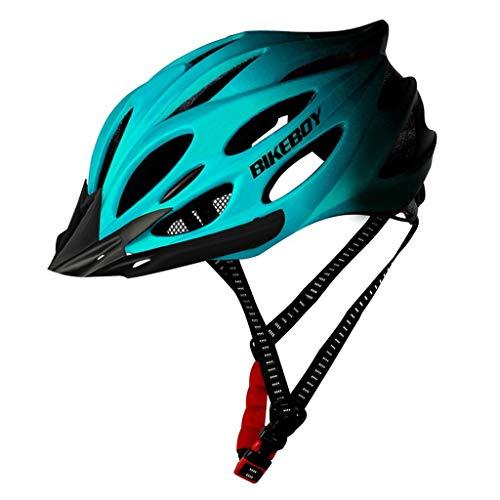 TOFOTL MTB Rennrad Mountainbike & Fahrradhelm Sport Schutzhelm para señoras & señores, Unisex, TOFOTL-Cyclingequipment-NO.1, azul