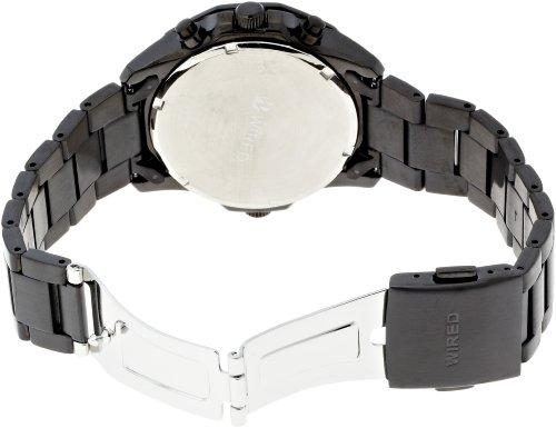 『[セイコーウォッチ] 腕時計 ワイアード The Blue-Sky クオーツ AGAW421 ブラック』の1枚目の画像