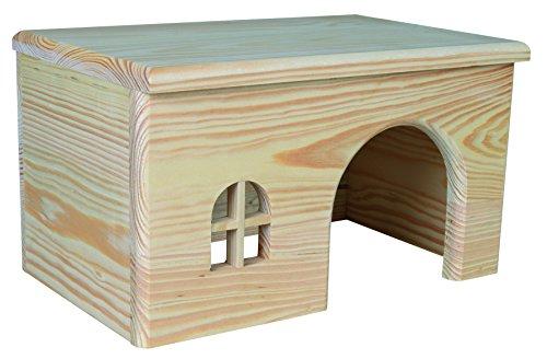 Trixie 61262 Holzhaus, Meerschweinchen, 28 × 16 × 18 cm
