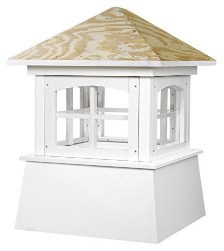 Good Directions Brookfield Vinyl Cupola with Wood Roof 26