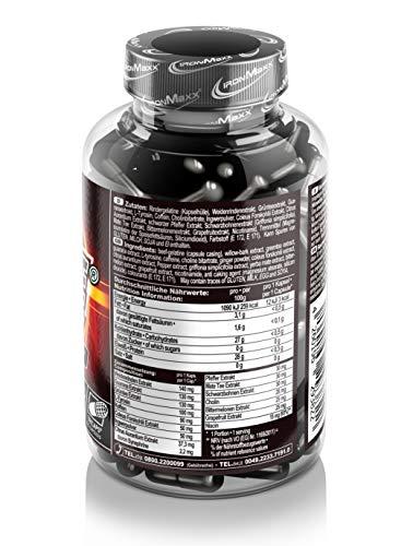 Ironmaxx Hellfire Fatburner 150 Kapseln, 1er Pack (1 x 165,7 g) - 2