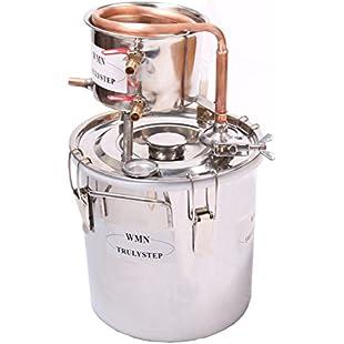 New 8 Gal 30 Litres Copper Alcohol Wine Moonshine Ethanol Still Spirits Boiler Water Brandy Brewing Distiller Kit