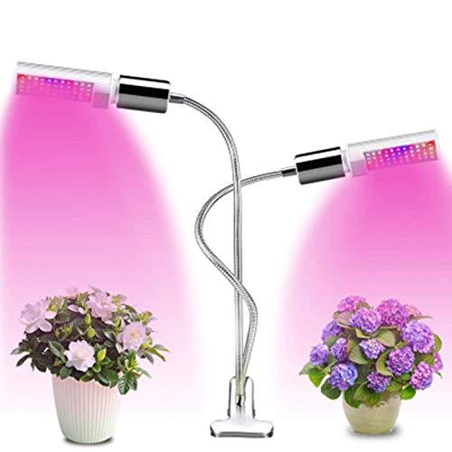 Detachable Light Source LED Clip Seed Start Plant Growth Sunlight Fill Light Greenhouse Hydroponic Plant Vegetable Flower Grow Light UK