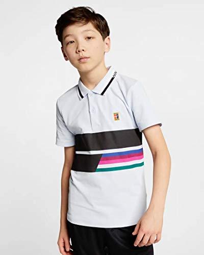 NIKE RF B Nkct ADV Classic Camiseta Polo, Niños, Half Blue/Half Blue/Blue Void/(Black), M