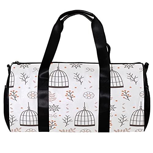Bolsa de viaje para mujeres y hombres, para colgar jaula de pájaros...
