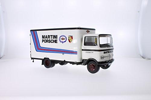 Mercedes LP 608 Service-Truck, Martini, voiture miniature, Miniature déjà montée, Premium ClassiXXs 1:18