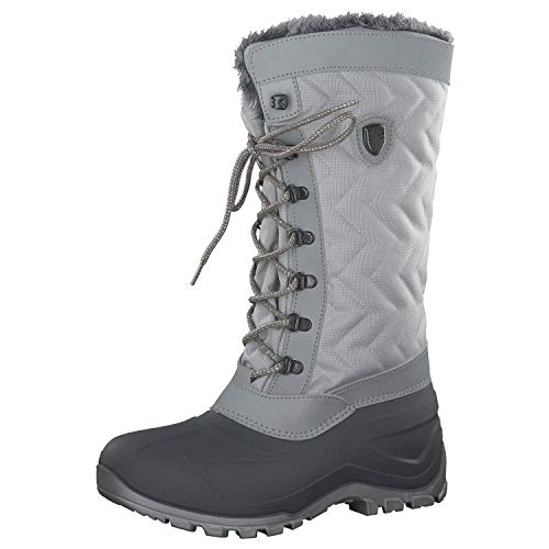 CMP Nietos Schneestiefel Damen, Weiß (Ghiaccio A280), 40 EU