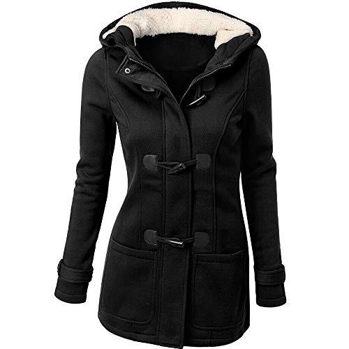 Auifor mode vrouwen windjack outwear warme wol slank lange jas jas Graben