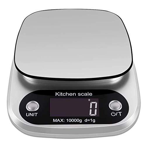 DSDD Küchenwaage Digital, Wiegen Kulinarische Küchenwaage Elektronische Küchenwaage, Digitale Lebensmittelwaage zum Backen Kochen von Speisen und Zutaten