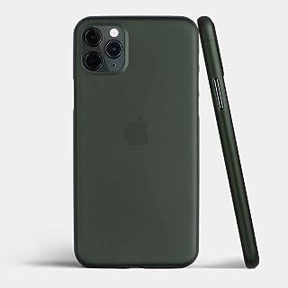 غطاء حماية نحيف للغاية لهاتف أبل ايفون 11 برو مضاد للصدمات خفيف ورقيق 0.3 ملم - أخضر