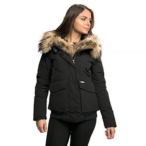 WOOLRICH Giubbotto Donna W's Military Bomber WWCPS2477 col. Nero tg. L