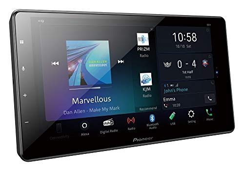 Pioneer SPH-EVO93DAB 2DIN 9' Media center modulare con DAB+, Apple CarPlay, Android Auto, WiFi, HDMI, Bluetooth