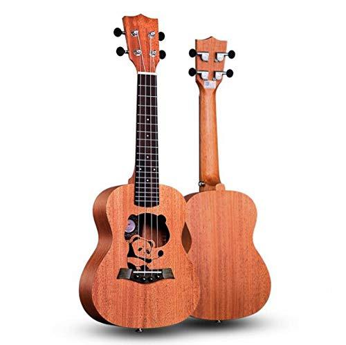KEPOHK 23-Zoll-Ukulele 11 Modle Mahagoni-Ukulele Hawaiianische kleine Gitarre Viersaitige Gitarre mit Ukulelentasche und Pick 23-Zoll-CSets