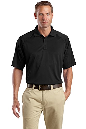 CornerStone® - Select Snag-Proof Tactical Polo. CS410 Black M