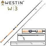 Westin W3 M Spin 3m 7-30g - Spinnrute zum Spinnangeln auf Meerforellen & Forellen, Angelrute zum Spinnangeln, Forellenrute