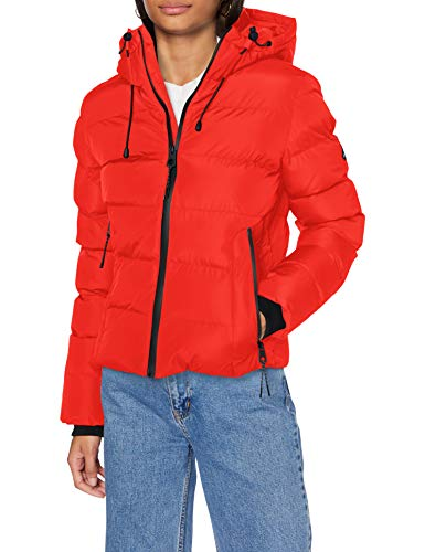 Superdry Womens Spirit Sports Puffer Jacket, Apple Red, M