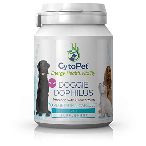 Cytoplan CytoPet Doggie Dophilus - 30 Vegetarian Capsules