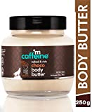 mCaffeine Naked & Rich Choco Body Butter| Cocoa Butter, Caramel | Deep Moisturizing | All Skin | Paraben & Mineral Oil Free | 250 g