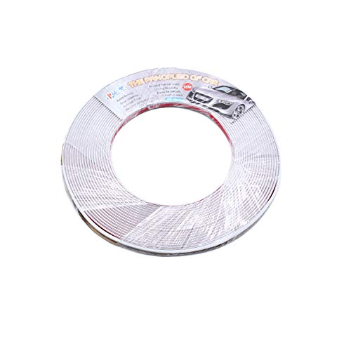 TAKPART 10MM x 12.5M Chrome Car Styling Moulding Strip Trim