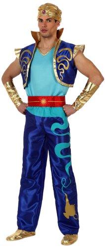 Atosa-10058 Disfraz Genio, color azul, M-L (10058)