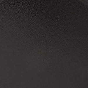 STAUB Cast Iron Enameled Frying Pan, 10-inch, Black Matte
