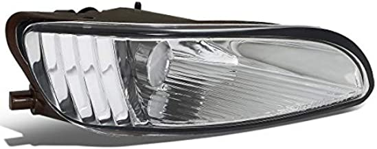 Factory Style Passenger/Right Side Front Bumper Fog Light/Lamp Replacement for 04-09 Lexus RX330/RX350