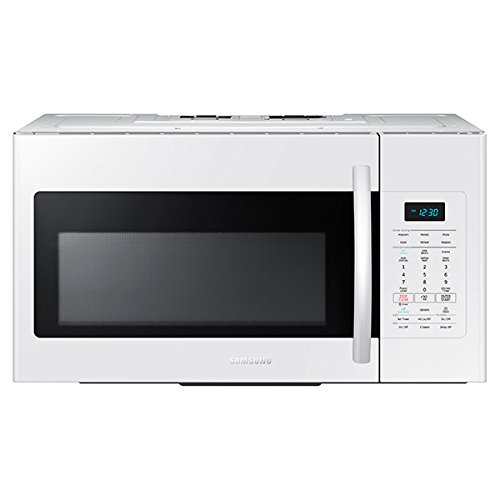 Samsung ME17H703SHW 1.7 Cu. Ft. White Over-the-Range Microwave