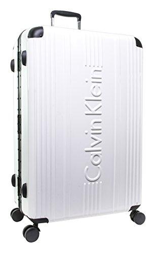 Calvin Klein Fulton Hardside Spinner Gepäck, weiß (Weiß) - LH818FT7