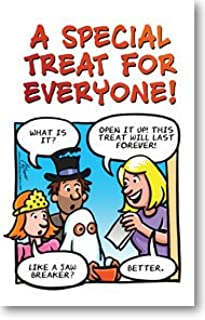 A Special Treat For Everyone! (Gospel Tract, Packet of 100, KJV)