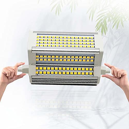Bulbs LED R7S 118mm 50W Lampadina Larga 55mm Double Ended J118 dimmerabile Warm White 3000K 450-500W alogena di Ricambio 110-240V AC 220°