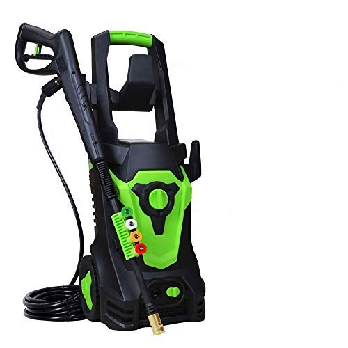 PowRyte Elite 4000PSI 3.0GPM Electric Power Washer,Pressure Washer with 4 Quick-Connect Spray Tips and 20 Ft Pressure Hose, Washer Machine(Green)