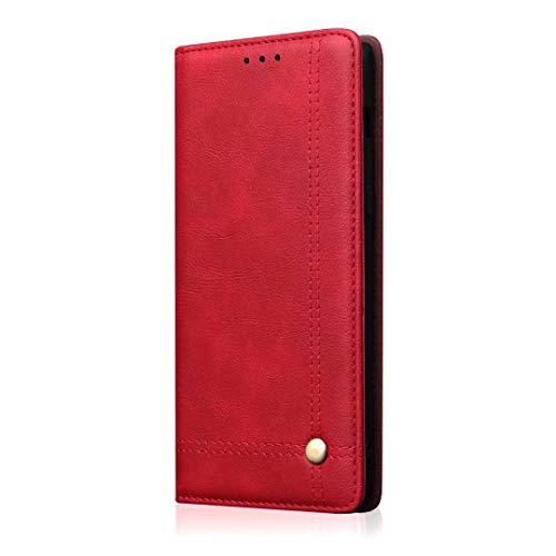Samsung Galaxy S20 Plus Hülle für Samsung Galaxy S20 Plus Handyhülle Case PU Leder Tasche Schutzhülle Handytasche Schutz Etui Brieftasche Flipcase mit Ständer und Magnetverschluss Stoßfänger