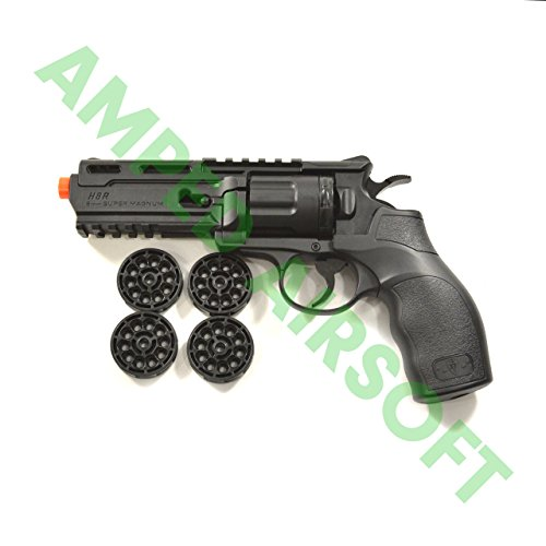 Elite Force H8R Revolver - Black Airsoft Pistol/Gun