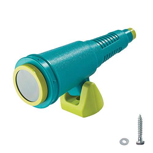 WICKEY Teleskop Star - Spielzeug Teleskop für Spielturm, Klettergerüst, etc. inkl. Befestigungsfuß und Holzschrauben