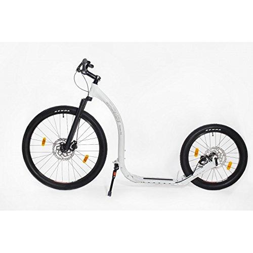 Kickbike Cross FIX White Dogscooter Disc-Brake