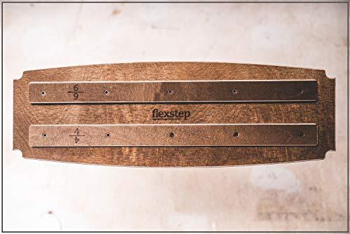 Captain Fingerfood Hangboard Trainingsboard Crimpboard (buletten braun)