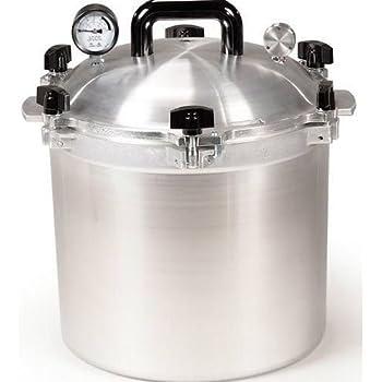 All American 921 21 Quart Pressure Cooker Canner