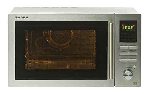 419Ob0VKILL - Sharp R82STMA Combination Microwave Oven, 25 Litre capacity, 900W, Stainless Steel